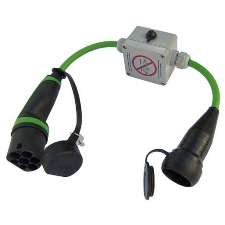 adaptateur prise type 2 type 3