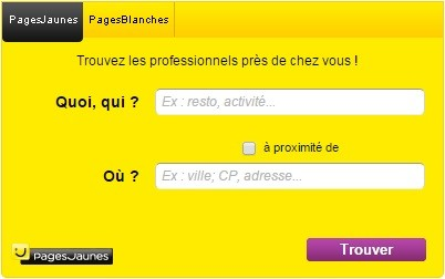 adresse pages blanches