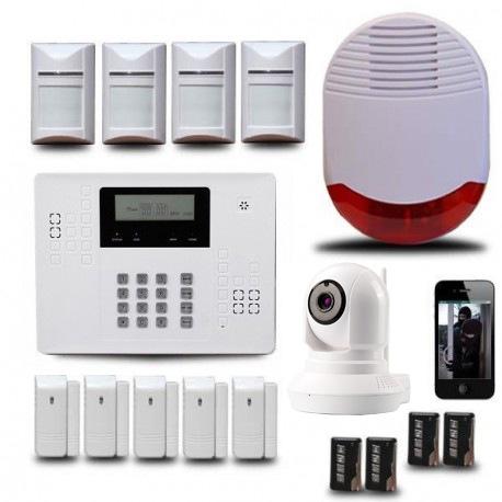 alarme maison camera