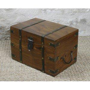 amazon coffre en bois