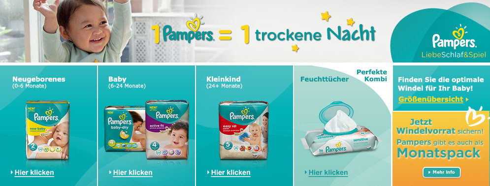amazon pampers