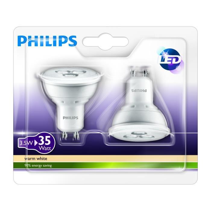 ampoule gu10 led philips