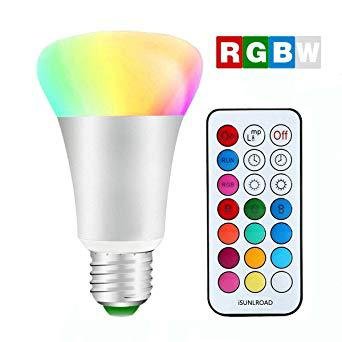 ampoule led e27 couleur changeante avec télécommande