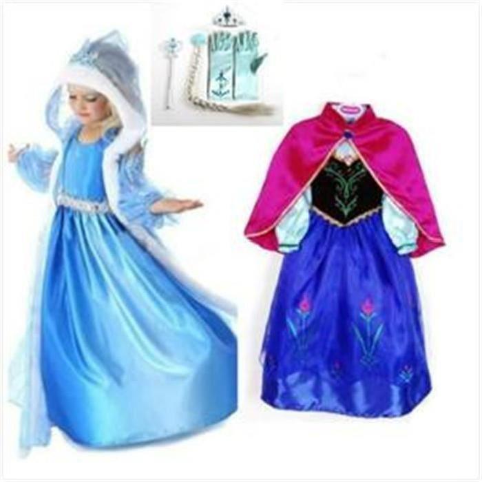 anna la reine des neiges robe
