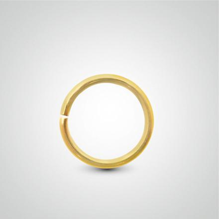 anneau nez or