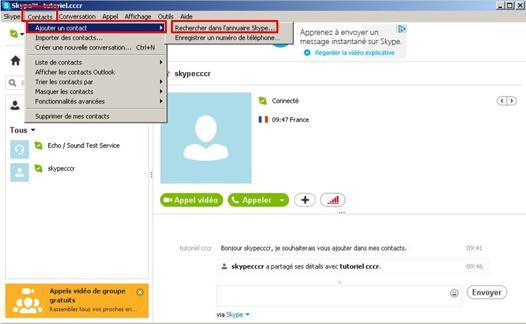 annuaire skype en ligne