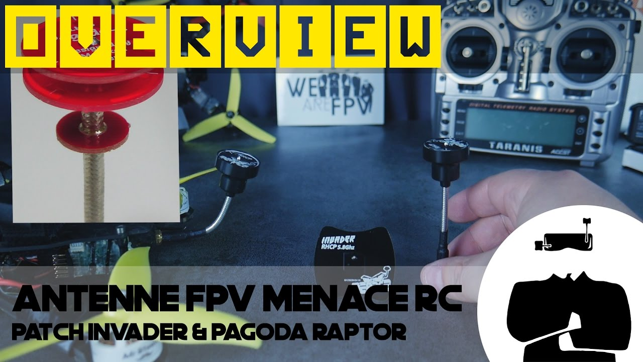 antenne patch fpv