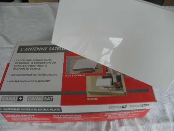 antenne satellite extra plate