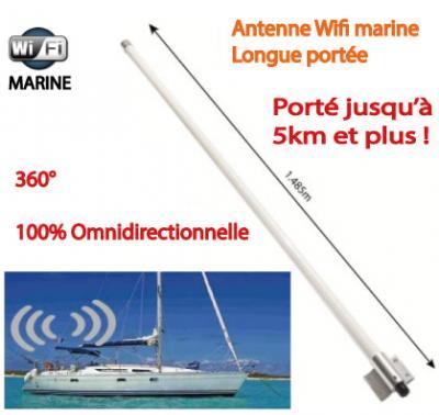 antenne wifi longue portée bateau