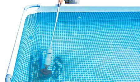 aspirateur batterie piscine hors sol
