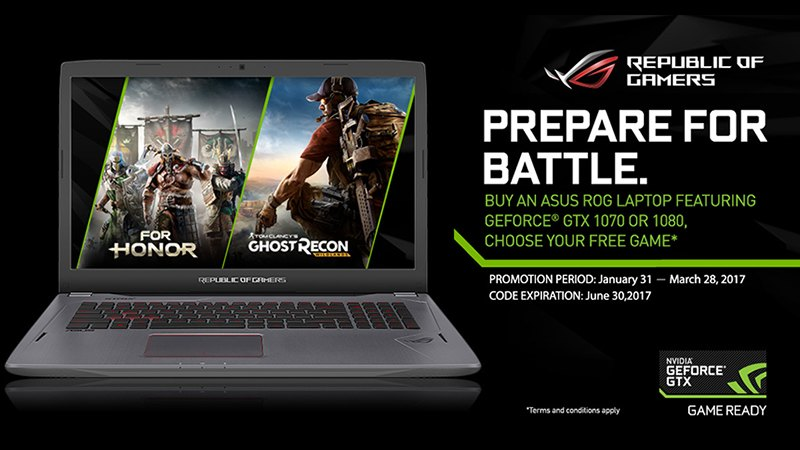 asus promotions