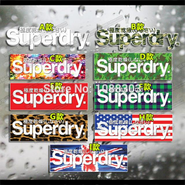 autocollant superdry