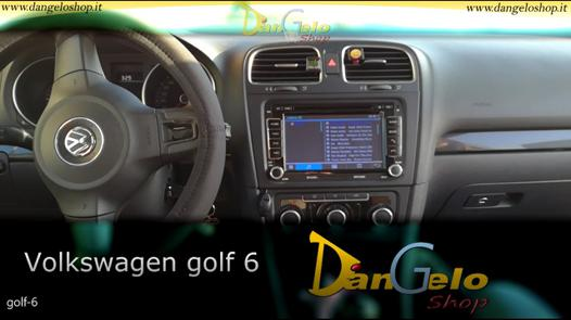 autoradio double din golf 6