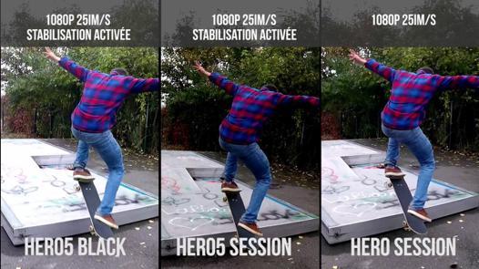 avis gopro hero session