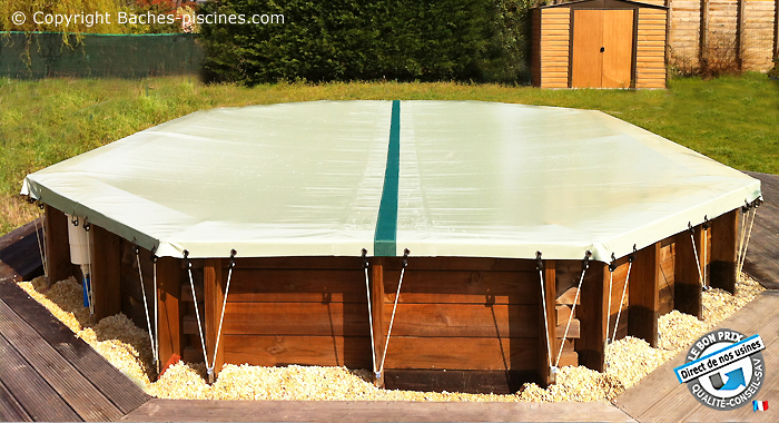bache protection piscine hors sol