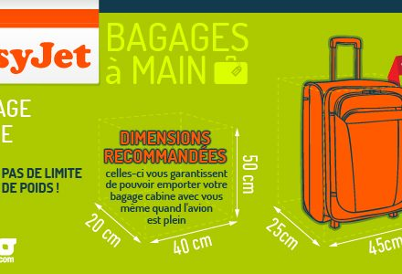 bagage cabine easyjet produits