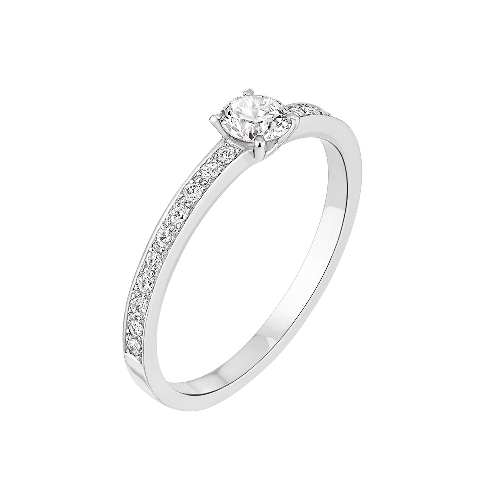 check-out 61de3 f9976 ▷ Comparatif Bague de fiancaille femme or blanc diamant ...