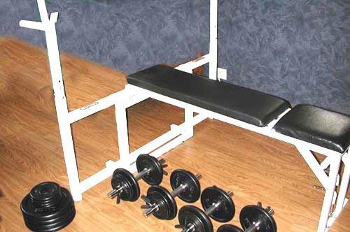 banc de musculation fait maison