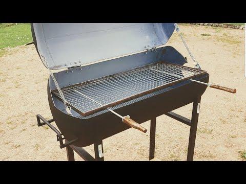 barbecue avec un chauffe eau