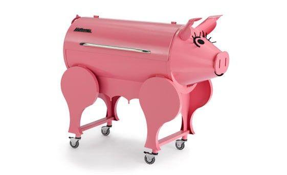 barbecue en forme de cochon