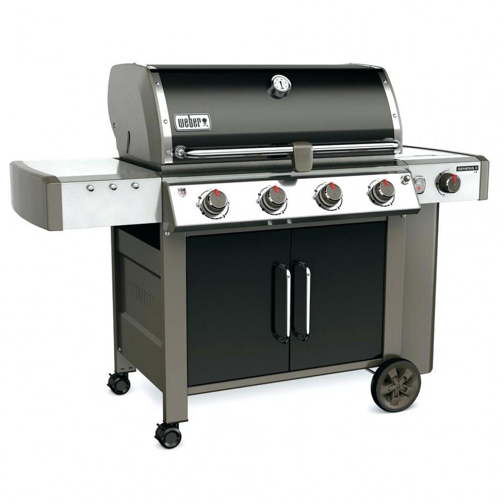 barbecue gaz grill et plancha weber