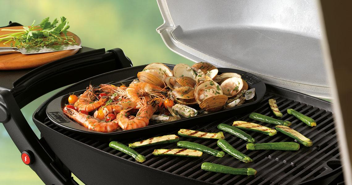 barbecue weber plancha