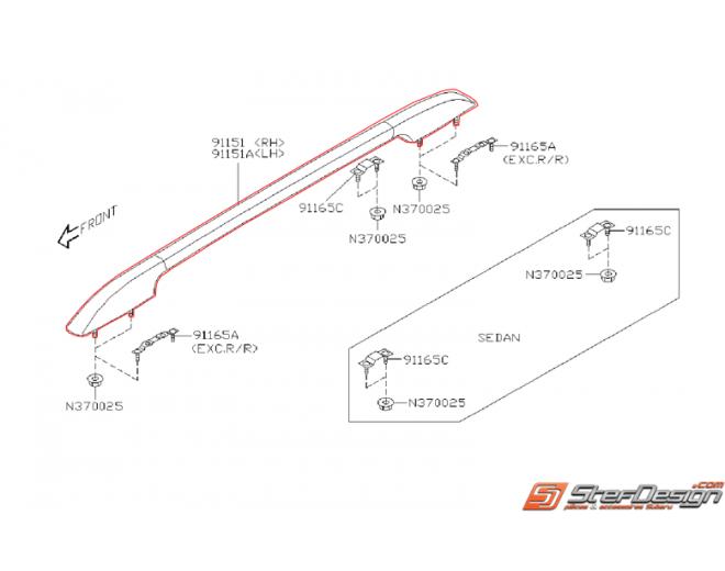 barre longitudinal