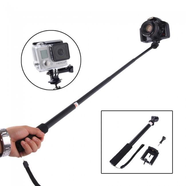 baton selfie gopro