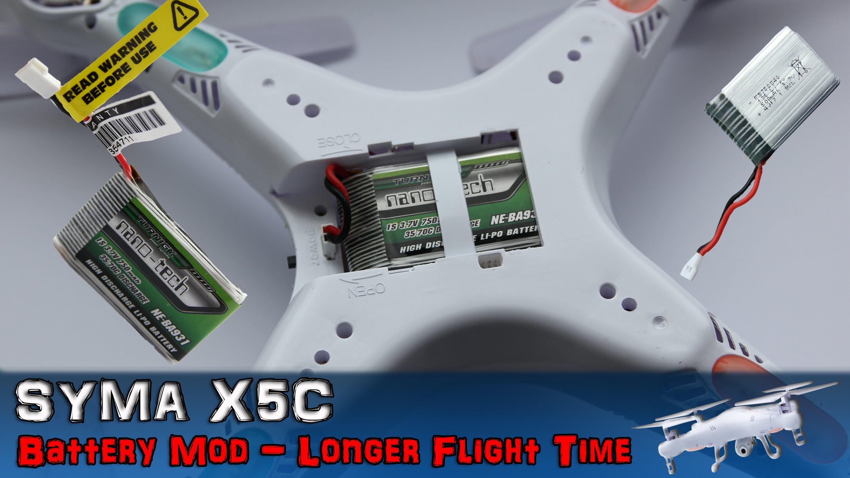 batterie drone x5c