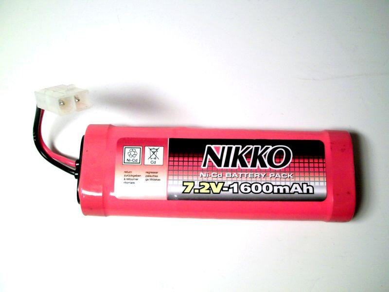 batterie nikko 7.2v