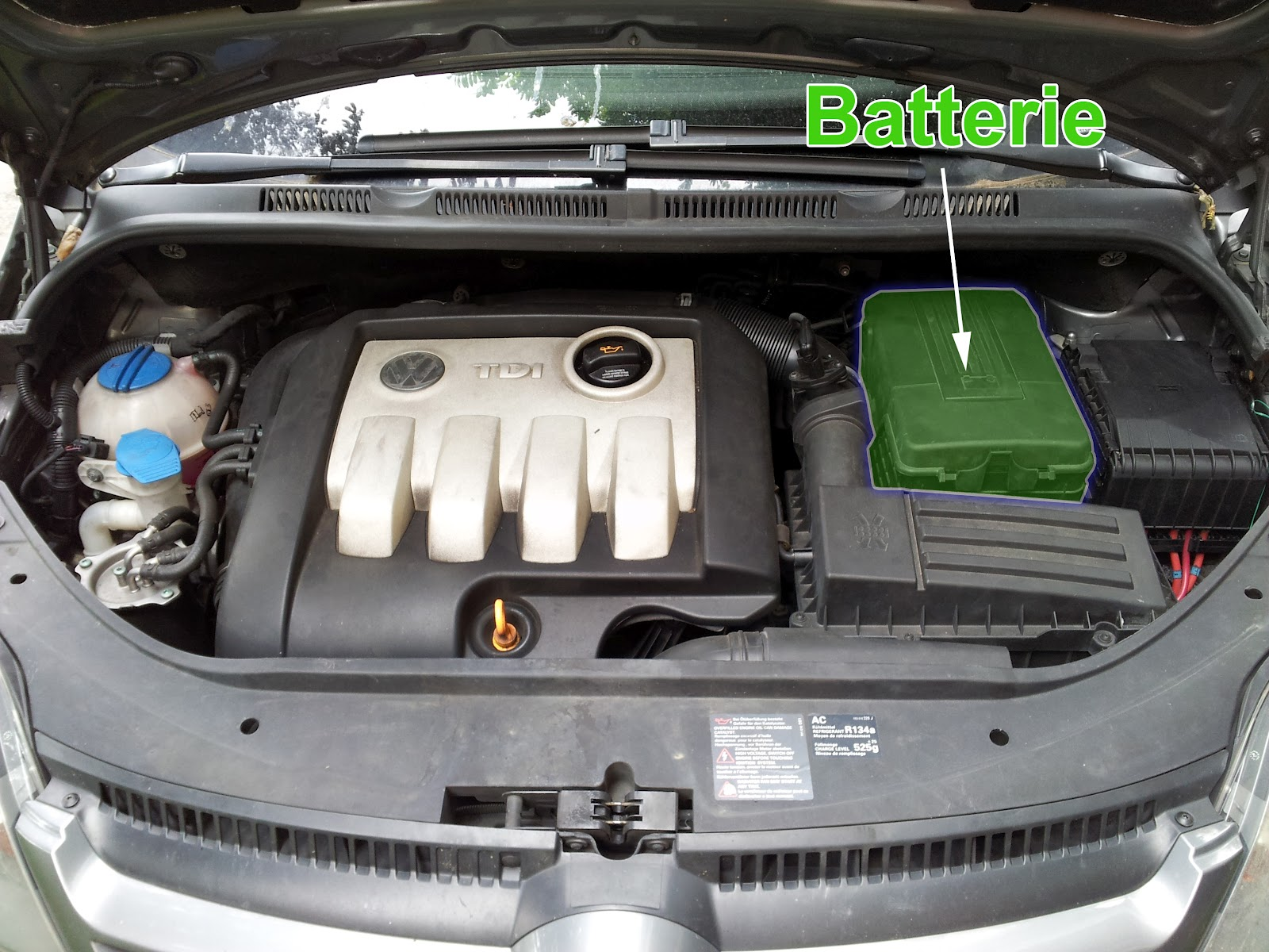 batterie pour golf 6