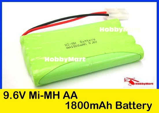 batterie voiture rc 9 6v