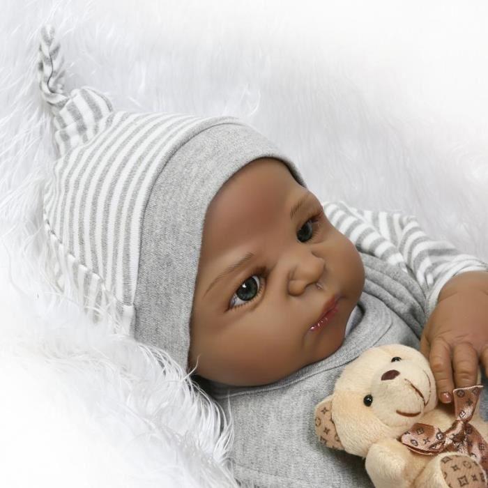 bébé reborn noir