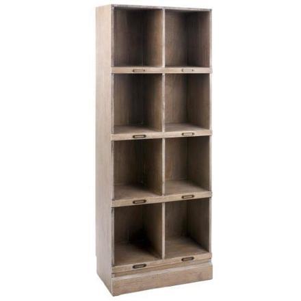 bibliothèque en bois pas cher