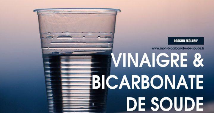 bicarbonate de soude et vinaigre