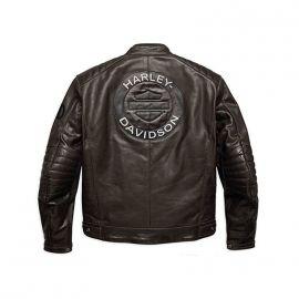 blouson cuir moto harley