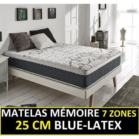 blue latex 25 cm de naturalex confort ferme