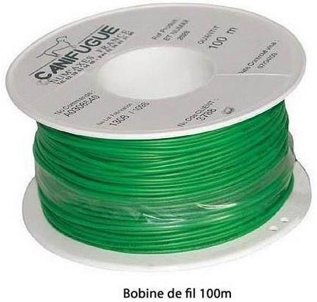 bobine fil canifugue