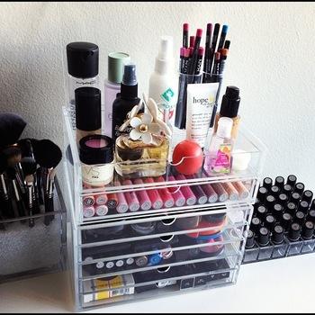 boite acrylique maquillage
