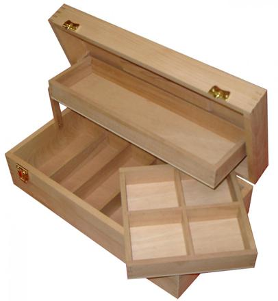 boite de rangement pour artiste peintre