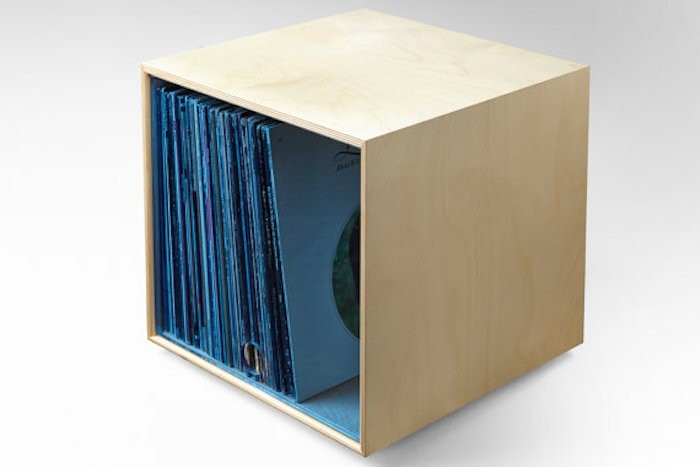 boite rangement vinyl