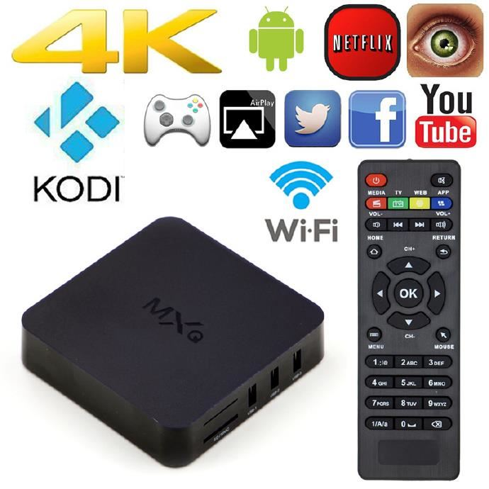 boitier smart tv android