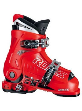 bottes de ski enfant