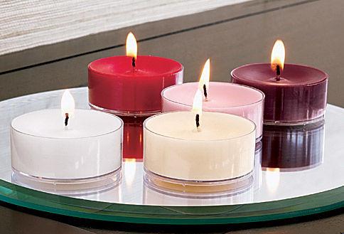 bougies à réchaud