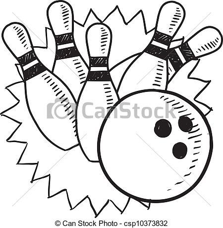 bowling dessin