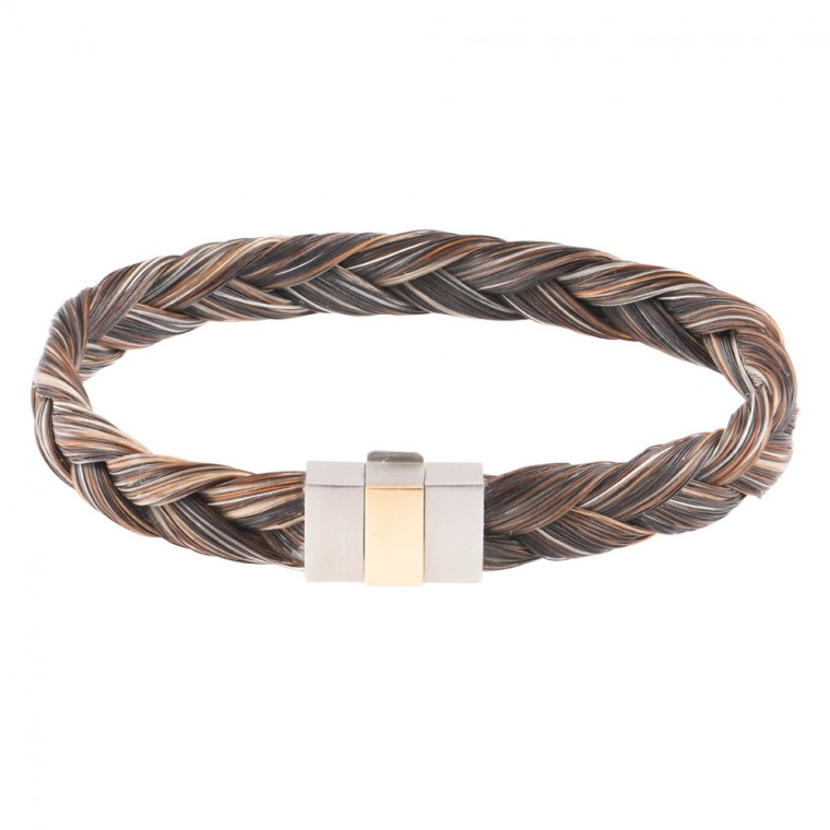 bracelet crin de cheval homme