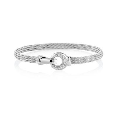 bracelet en acier femme