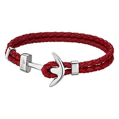 bracelet homme rouge