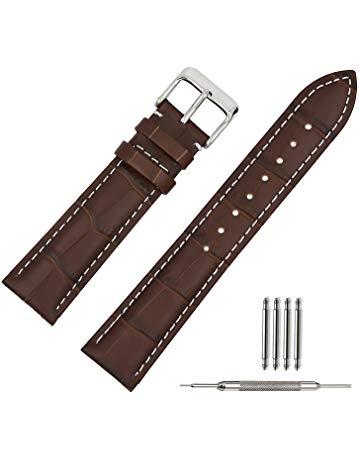 bracelet montre cuir pas cher
