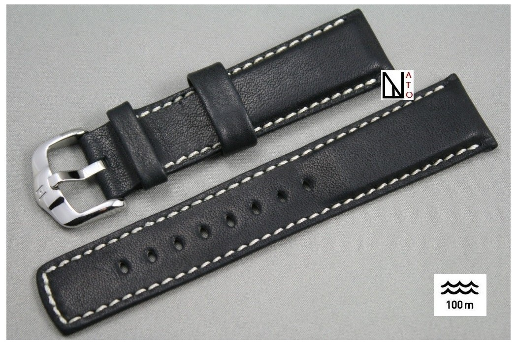 bracelet montre noir